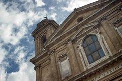 Chiesa di dramma Immagini Stock Libere da Diritti