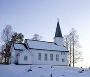Chiesa di Drolsum Fotografie Stock
