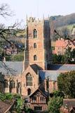 Chiesa di Dunster Fotografia Stock