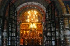 Chiesa di Elia il profeta in Yaroslavl Fotografia Stock