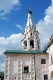 Chiesa di Elia il profeta in Yaroslavl (Russia) Fotografia Stock Libera da Diritti