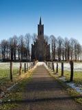 Chiesa di Elisabeth in Bedburg-Hau Louisendorf Fotografie Stock