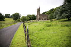Chiesa di Exmoor Fotografie Stock