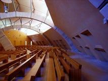 Chiesa di Fältpräst Pio - Interno Royaltyfri Foto