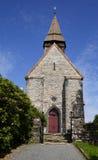 Chiesa di Fana in Norvegia fotografie stock libere da diritti