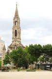 Chiesa di felicità della st Perpetua e della st a Nimes, Francia Immagine Stock Libera da Diritti