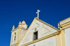 chiesa di ferragudo Fotografie Stock