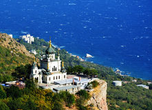 Chiesa di Forosky sevastopol l'ucraina Fotografie Stock