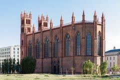 Chiesa di Friedrichswerder a Berlino Fotografia Stock Libera da Diritti