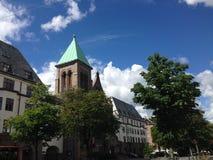 Chiesa di Frogner fotografie stock