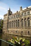Chiesa di Gand, Belgio del frammento di San Nicola Immagine Stock