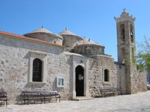 Chiesa di Geroskipou Immagine Stock