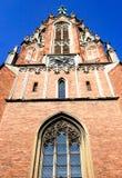 Chiesa di Gertrude a Riga immagine stock libera da diritti