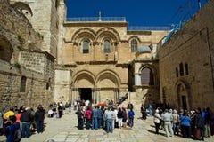 Chiesa di Gerusalemme della risurrezione Fotografia Stock Libera da Diritti