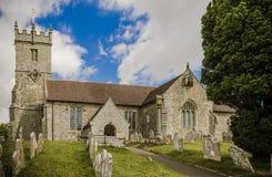 Chiesa di Godshill Fotografia Stock