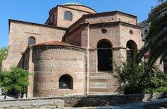 Chiesa di Hagia Sophia Byzantine a Salonicco Immagine Stock Libera da Diritti
