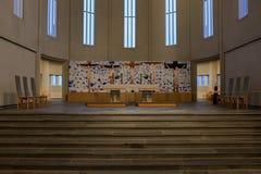 Chiesa di Hallgrimur Immagine Stock