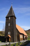Chiesa di Hamre immagini stock