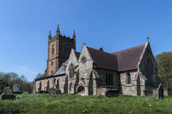 Chiesa di Hanbury Fotografia Stock Libera da Diritti