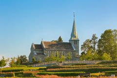 Chiesa di Havstein, Trondeim Fotografia Stock