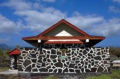 Chiesa di Hokuloa sulla grande isola Fotografia Stock