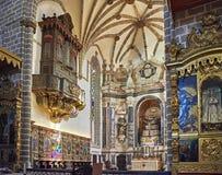 Chiesa di Igreja de Sao Francisco Evora, Portogallo Fotografia Stock