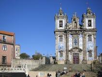 Chiesa di Ildenfonso del san a Oporto Fotografia Stock