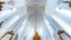Chiesa di indicatore luminoso Immagini Stock Libere da Diritti