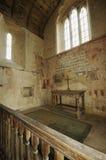 Chiesa di Inglesham dell'altare Fotografia Stock