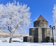 Chiesa di inverno fotografia stock