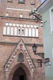 Chiesa di Jaani, Tartu Fotografie Stock