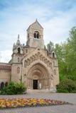 Chiesa di Jak, castello di Vajdahunyad Fotografie Stock Libere da Diritti
