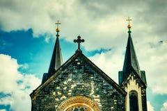 Chiesa di Karlin a Praga fotografia stock