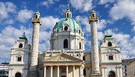 Chiesa di Karls immagini stock libere da diritti