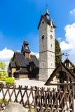 Chiesa di Karpacz Fotografia Stock Libera da Diritti