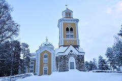 Chiesa di Kerimäki, Finlandia fotografie stock
