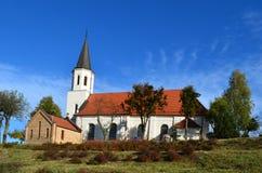 Chiesa di Kiekrz immagine stock