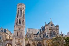 Chiesa di l'Auxerrois del Germain del san Fotografia Stock