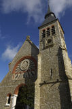 Chiesa di Le Touquet Paris Plage in Nord Pas de Calais Fotografie Stock