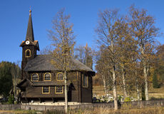 Chiesa di legno Immagine Stock Libera da Diritti