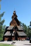 Chiesa di legno Immagini Stock Libere da Diritti
