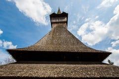 Chiesa di legno Immagini Stock