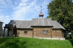 Chiesa di legno Fotografie Stock