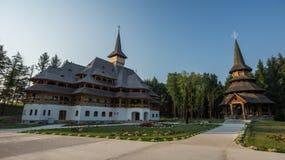 Chiesa di legno alta Fotografia Stock