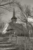 Chiesa di legno di Barsana Fotografia Stock Libera da Diritti