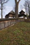 Chiesa di legno evangelica Immagini Stock