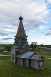Chiesa di legno ortodossa fotografie stock