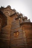 Chiesa di legno in Russia Immagine Stock