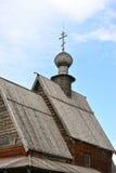 Chiesa di legno in Suzdal' Fotografia Stock Libera da Diritti