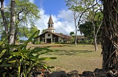 Chiesa di Liliuokalani Immagini Stock Libere da Diritti